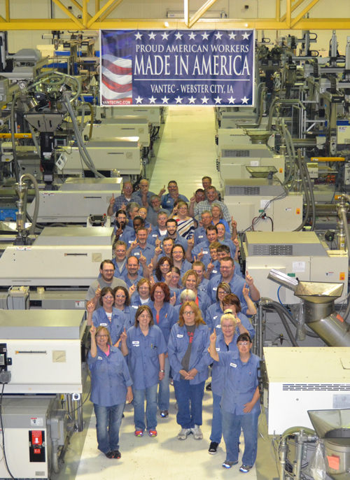 Vantec Inc Employees - Made in America